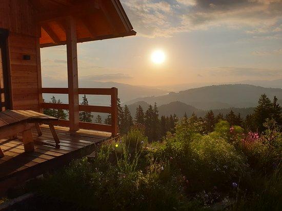 Bad Sankt Leonhard im Lavanttal, Αυστρία: Terrasse