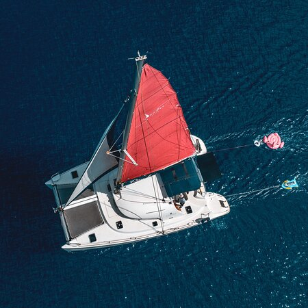 Daneri yachts - daily sailing yacht cruises Crete, Greece