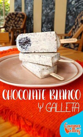 La Favorita de Muchos! Nuestra Guanaletta de Chocolate Blanco y Oreo