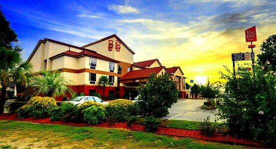 sunset photo of hotel 2020