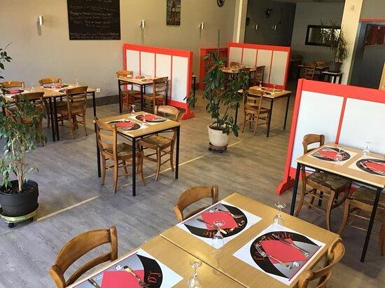 Rambervillers, Франция: Salle de restaurant