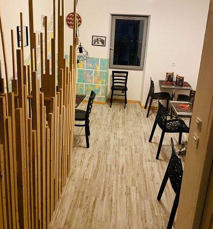 Nous avons créé un étage pour agrandir le restaurant