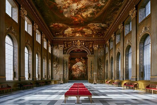 The Painted Hall and One Way journey on Uber Boat by Thames Clippers صورة فوتوغرافية