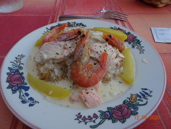 Le Lude, Ranska: choucroute de la mer