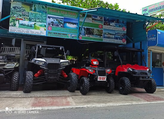 Nano & Vega Las Terrenas Quad and Suv Rental