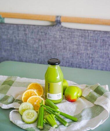 celery is your digestion best friend, but this one it doesn't taste like s*it.