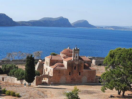 Pilos, กรีซ: vue depuis le fort