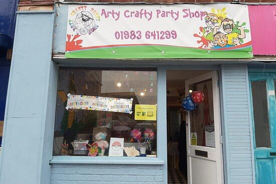 Arty Crafty Party Shop