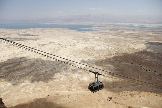 Masada, Ein Gedi y el Mar Muerto desde...