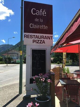 Vercheny, France: Le café de la Clairette