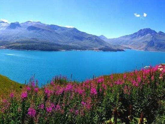 Moncenisio, إيطاليا: Panoramica sul Lago del Moncenisio 