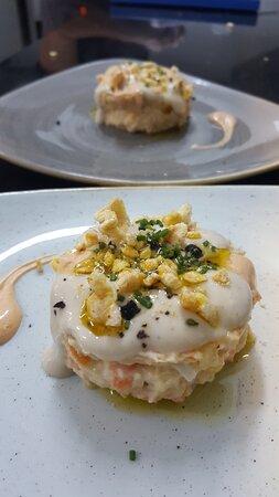Foios, Spanien: Rusa con kimchi