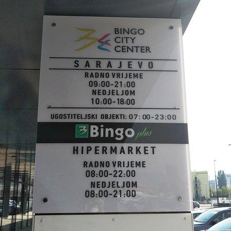Bingo City Center Sarajevo