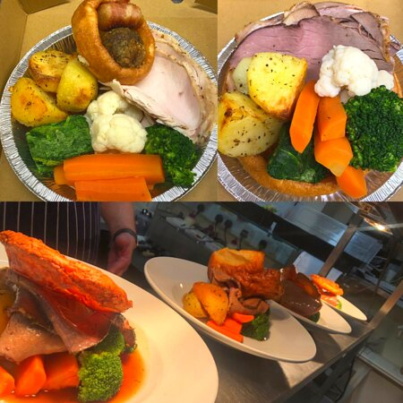 The Farmers Boy Pub and Restaurant: Sunday Roast available for dine-in and takeaway or delivery