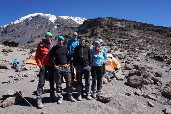 7 Days Machame Route Kilimanjaro Expedition: czech team :-D