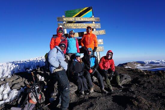7 Days Machame Route Kilimanjaro Expedition: summit