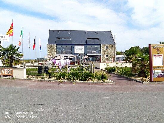 Huisnes sur Mer, Frankrig: La belle bâtisse, aussi beau que bon, dehors comme dedans