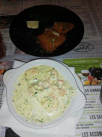 Très bien mangé les moule sont petites mais très bonnes l. Accueil très bien respect le temps entre apero et repas principal