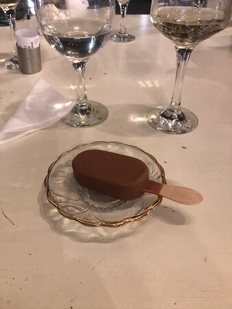 Complimentary Raki and Dessert