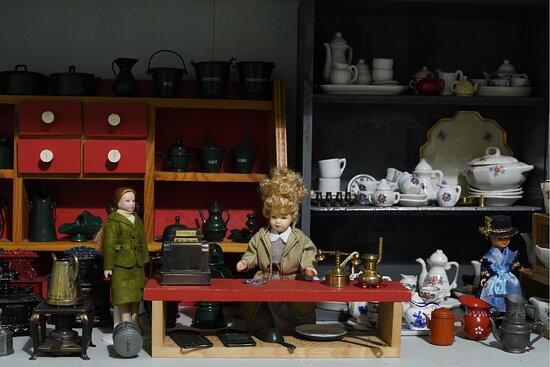 Erp, Hà Lan: Een van de vele miniatuurwinkeltjes