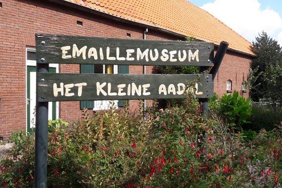 """Erp, Hà Lan: Emaille museum """"Het Kleine Aadal"""""""
