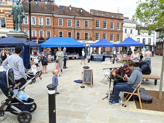 Romsey, UK: Our markets are filled with wonderful handmade products all made by local creators.