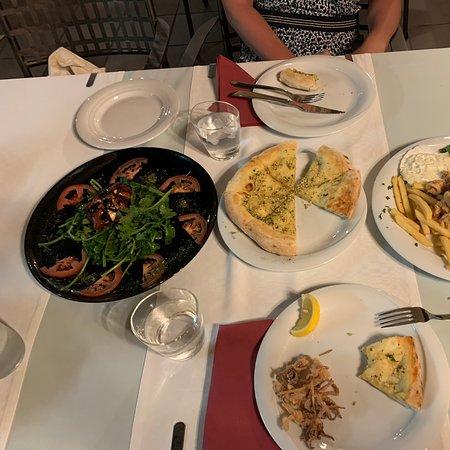 Amazing service, big portions