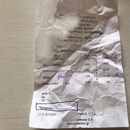 A-typisch im Vergleich zu anderen Alonissos-Restaurants