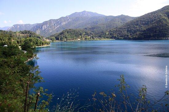 Ledro, إيطاليا: Veduta del Lago di Ledro