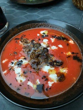 Gazpacho starter