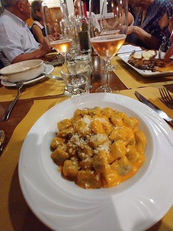 Fosseno, Italy: gnocchi