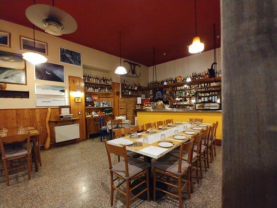 Fosseno, Italy: sala