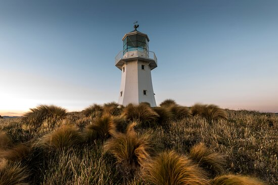 Lower Hutt, Nova Zelândia: Pencarrow Lighthouse  Credit: Grant Sheehan