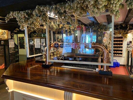 Newenden, UK: Bar