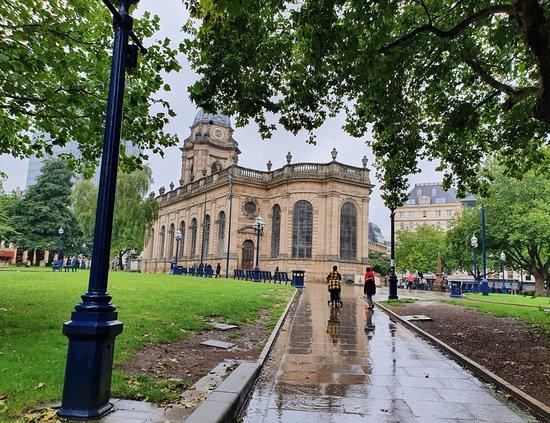 Birmingham Cathedral Gardens