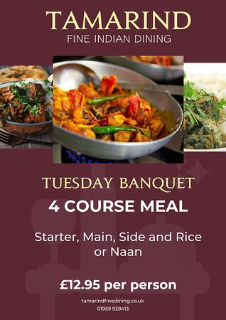 Every Tuesday. Dining only!