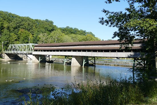 Harpersfield, OH: View of the bridge