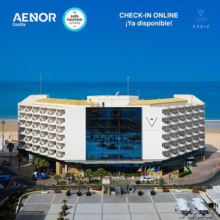 Hotel Playa Victoria, hoteles en Cádiz