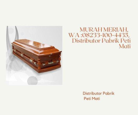 """Riau, Indonezja: """"KLIK http://wa.me/6282331004433, Peti Mati Harga, Peti Mati Kayu Jati, Peti Mati Kaca, Peti Mati Corona, Peti Mati Covid   Prosesi pemakaman jenazah keluarga pastinya ingin yang terbaik bukan? Pemakaman dengan prosesi yang aman pastinya harus ya. Namun setelah pemakaman, apa yang terjadi di dalam tanah siapa sih yang tau? Tentu tidak satu pun kan yang mengetahuinya. Banyak hal – hal diluar dugaan yang pastinya terjadi pada sosok diri jenazah, sebelum habis dimakan bakteri penghancur."""
