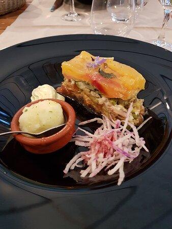Sagelat, Francja: Non seulement c'est joli à voir mais délicieux !