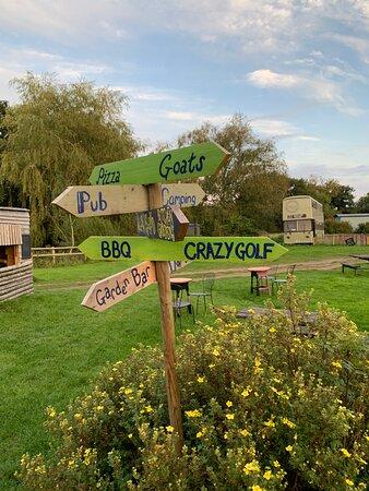Buckland Newton, UK: Cornucopia of choice