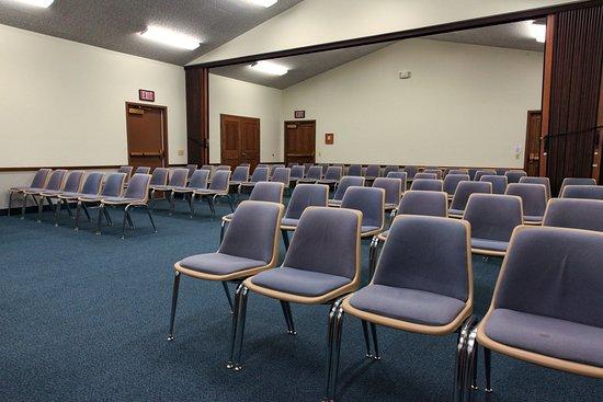 The Church of Jesus Christ of Latter-day Saints Gordon Nebraska Meeting House Chapel.