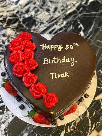 Happy birthday Tirak! #birthday #cake #phuket