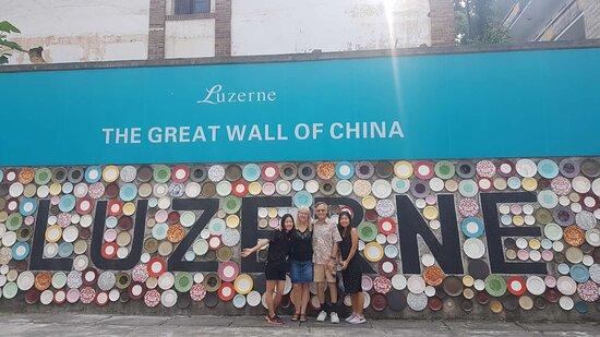 Dehua County, China: Outside the Lucerne Hotel