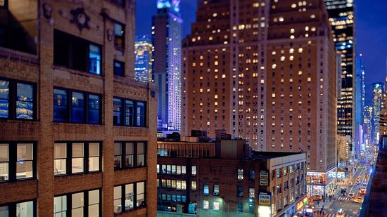 TownePlace Suites New York Manhattan / Times Square: View from rooftop