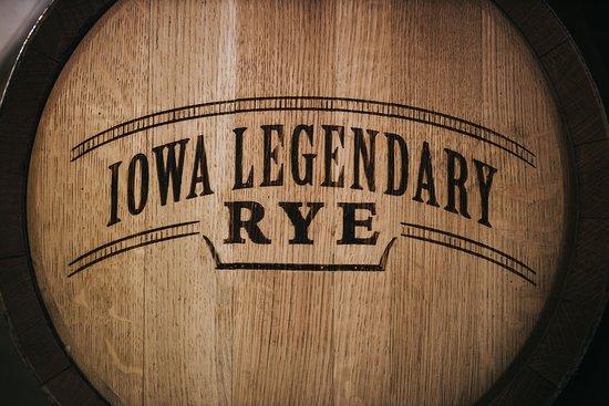 Carroll, IA: Iowa Legendary Rye Barrel sales program.