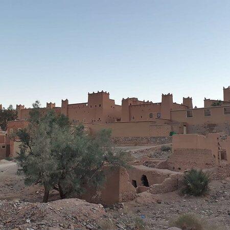 Nkob, town of 45 kasbahs & oasis