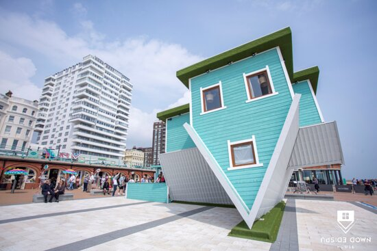 Upside Down House – Brighton