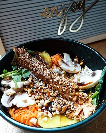 La Bibimerie – restaurant coréen – asiatique terrasse – bibimbap – République – Strasbourg saint denis - Paris 10