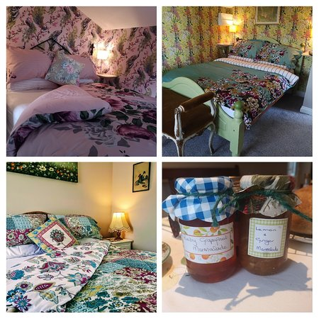 Bedrooms, homemade marmalades and fresh baked bread